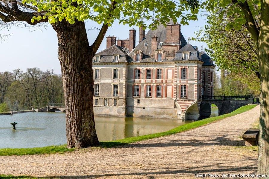 Le château d'Ormesson, dans le Val-de-Marne
