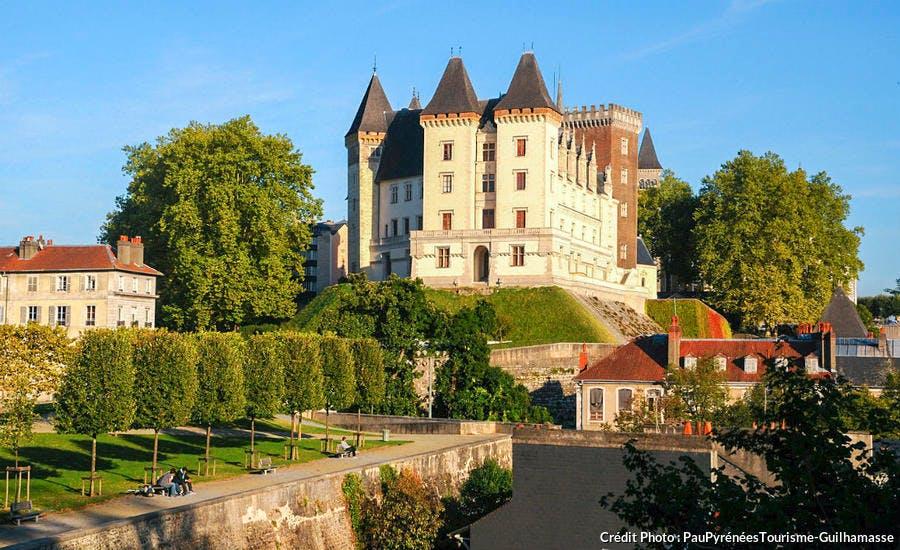 Le château de Pau et son parc