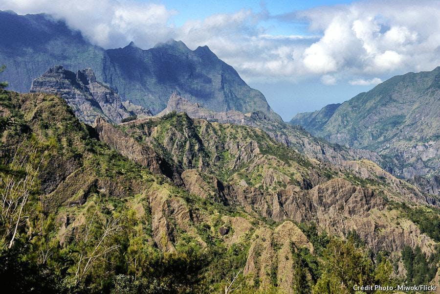 Route montagneuse de Cilaos