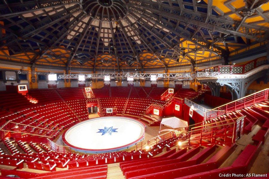 Cirque Jules Verne à Amiens