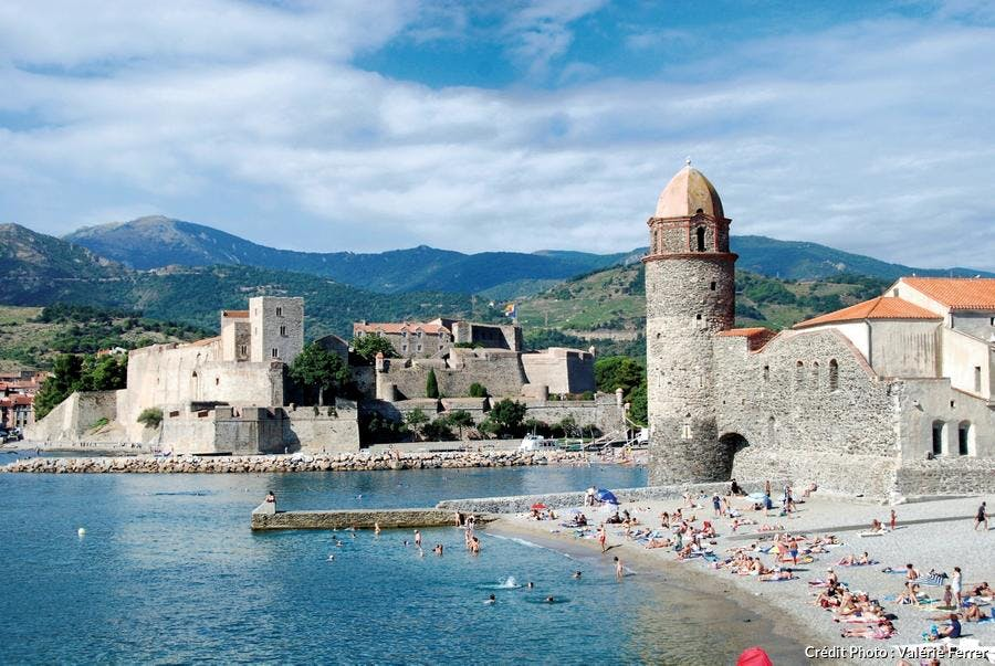 Plage Saint-Vincent - Collioure