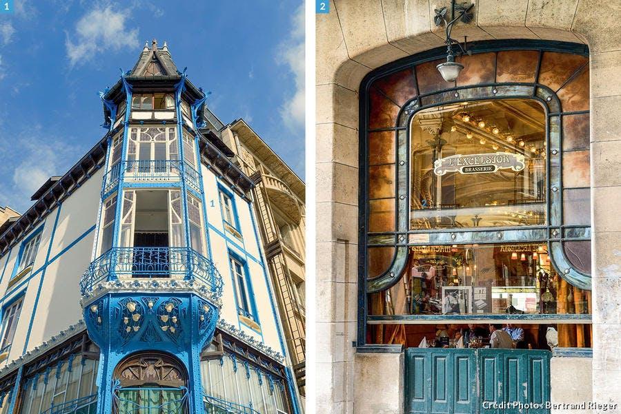 L'ancienne graineterie Génin-Louis et la brasserie Excelsior - Nancy