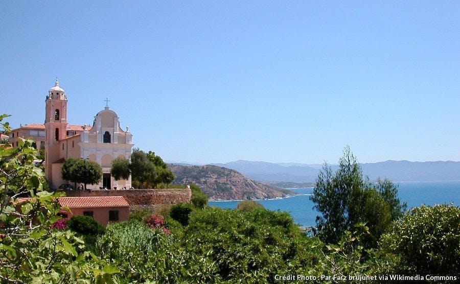 Vue sur la mer depuis Cargèse