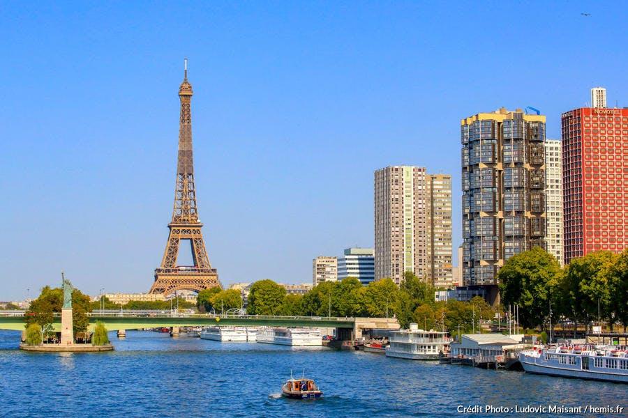 Croisière sur la Seine, tour Eiffel, Paris