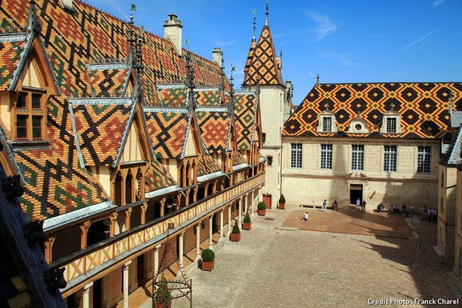 Les Hospices de Beaune, en Bourgogne