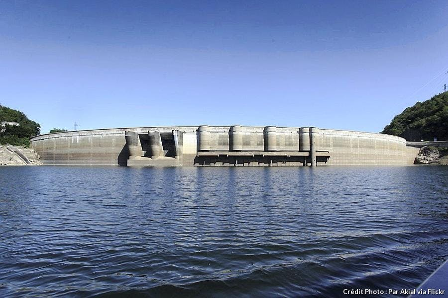 Le barrage de Bort-les-Orgues