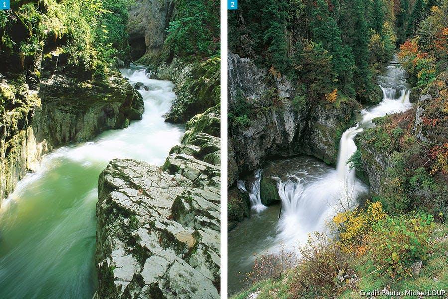 Cascades de la Langouette et de la Billaude