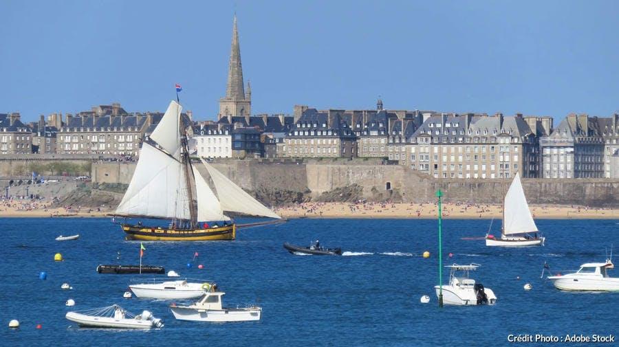 Le Renard au large de Saint-Malo