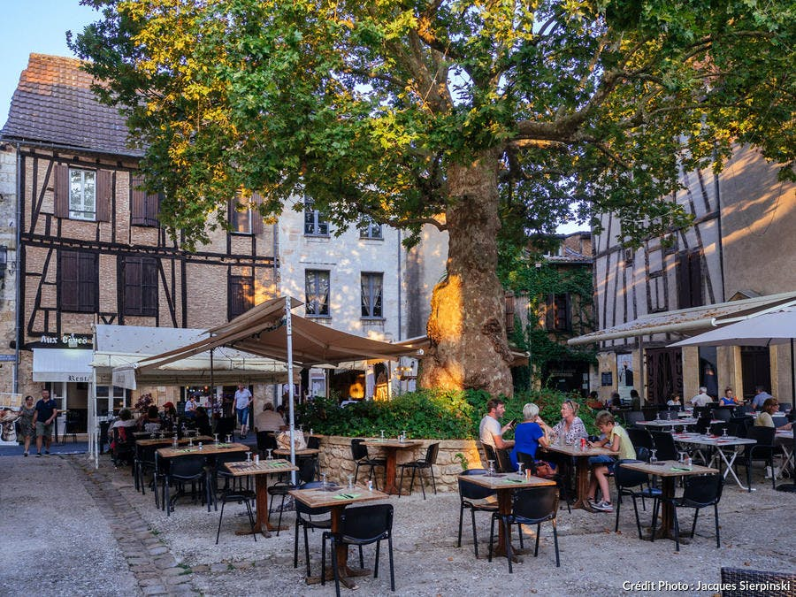 Place du Feu à Bergerac