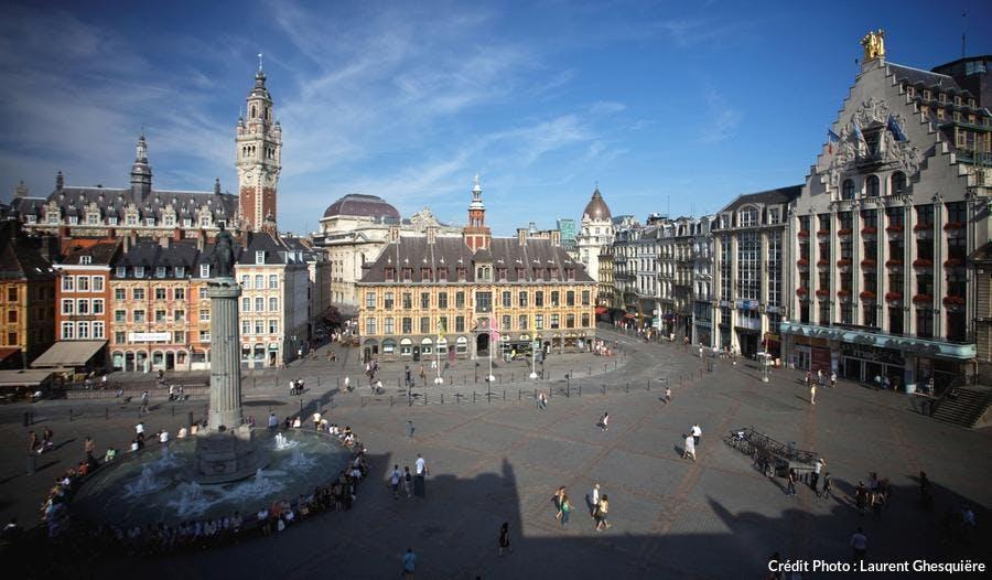 la  grande place de Lille