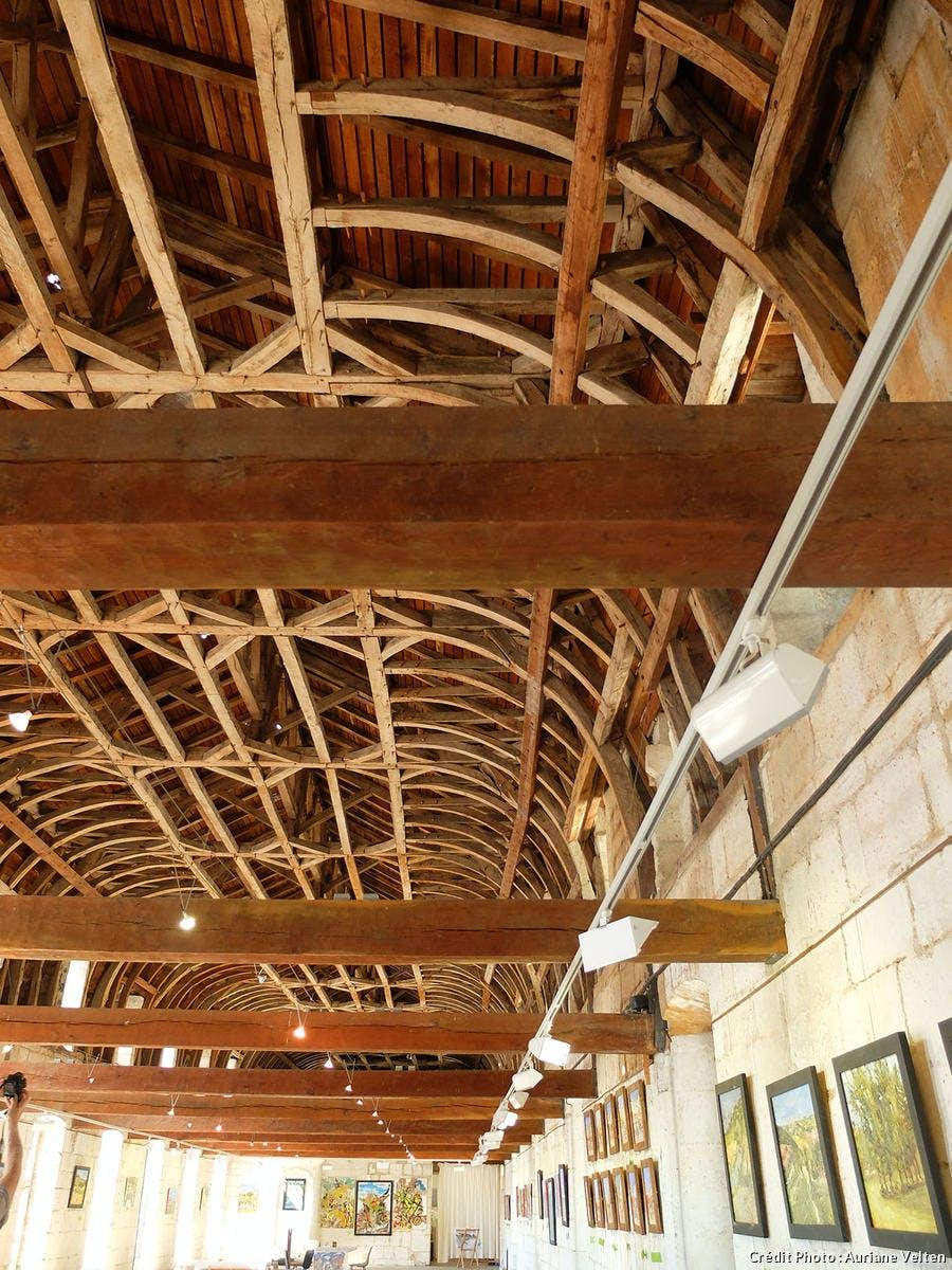 brantome plafond du Dortoir des moines