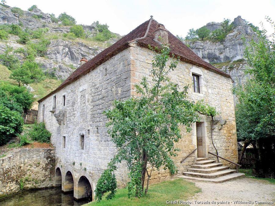 Moulin de Couganguet à Calès