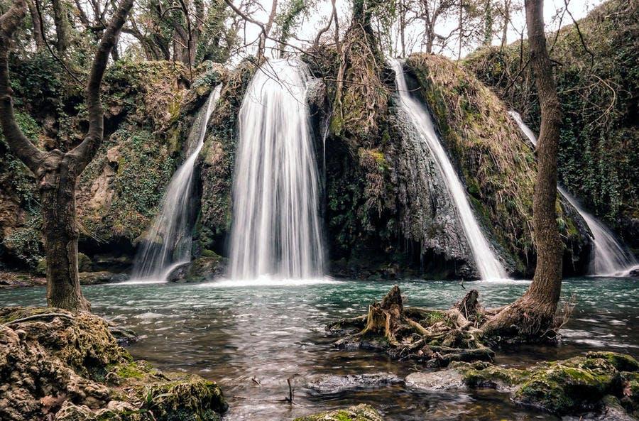 Cascade du Baou dans le Var