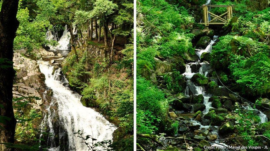 La cascade du Bouchot dans les Vosges
