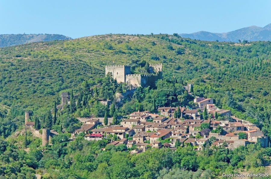 Castelnou - vue générale