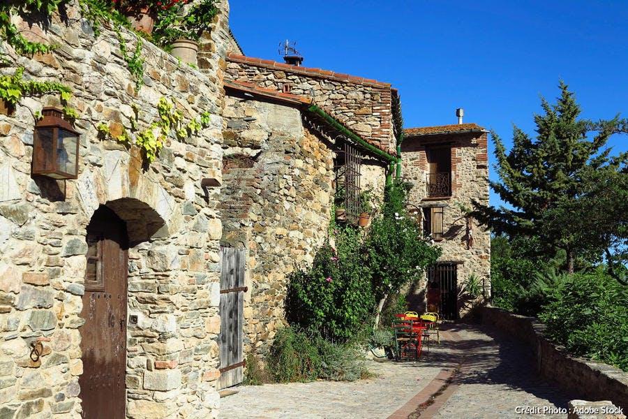 Dans les rues de Castelnou