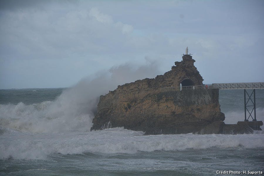Biarritz Rocher de la Viege