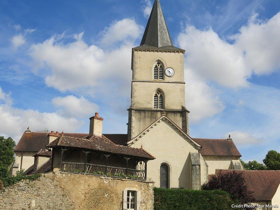 Epoisses église Saint-Symphorien