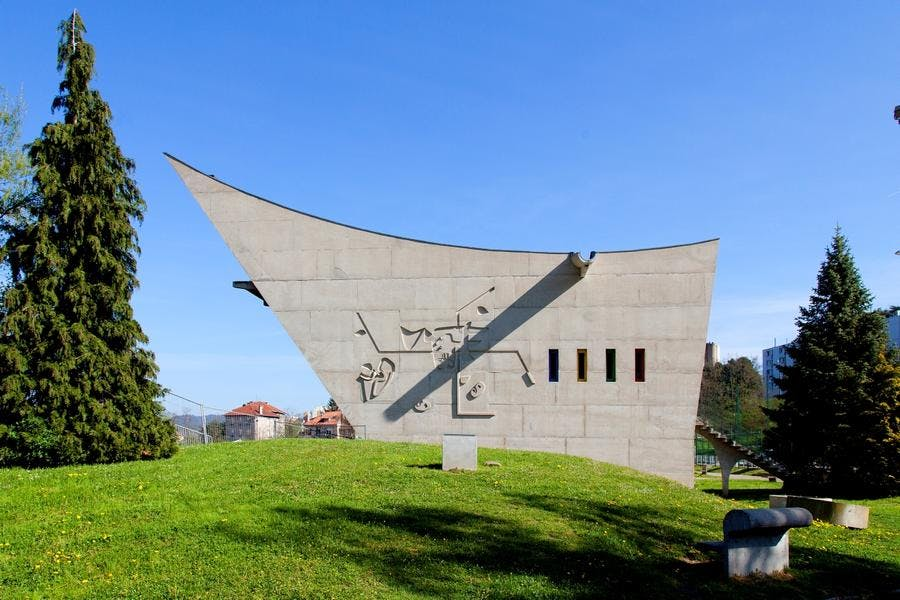 maison de la culture à Firminy - Le Corbusier