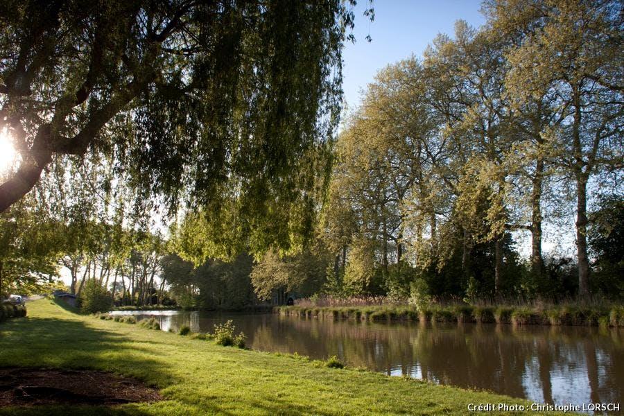 vue du canal de Briare