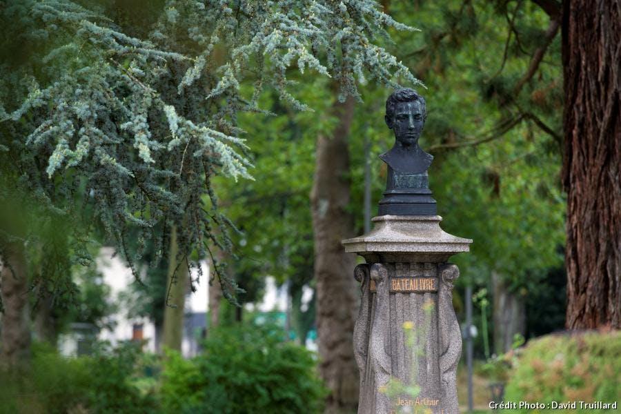 buste d'Arthur Rimbaud
