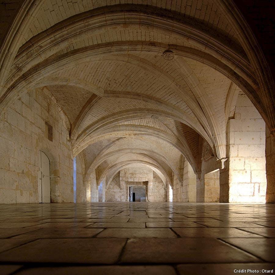 château de Cognac salle des gardes