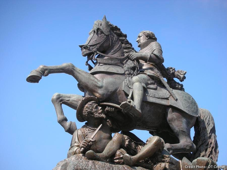 statue-francois-1er