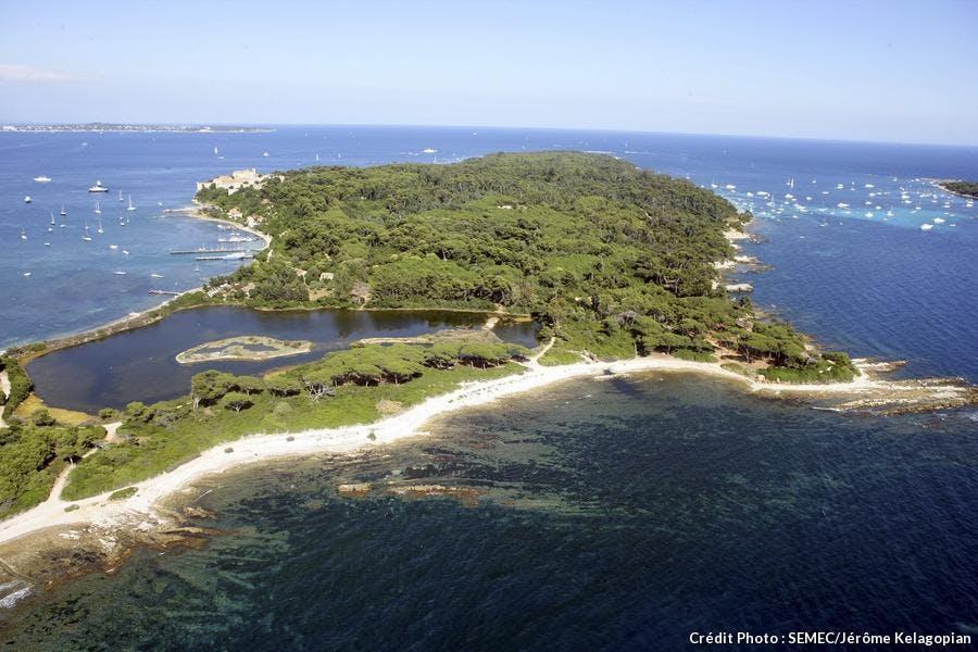 île Ste-Marguerite étang bateguier