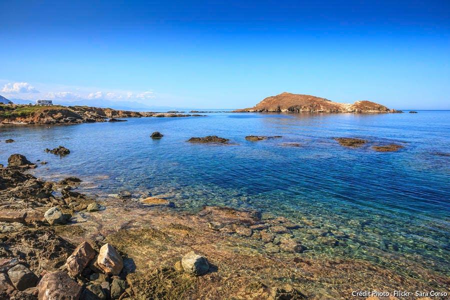 Mer turquoise du Cap Corse