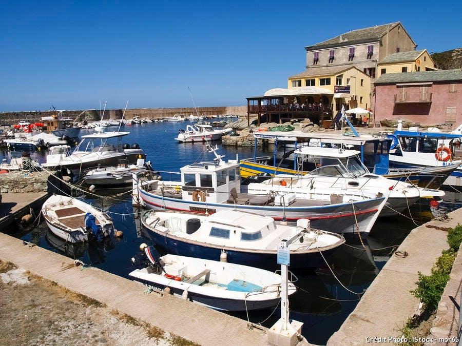 Le port de Centuri au Cap Corse
