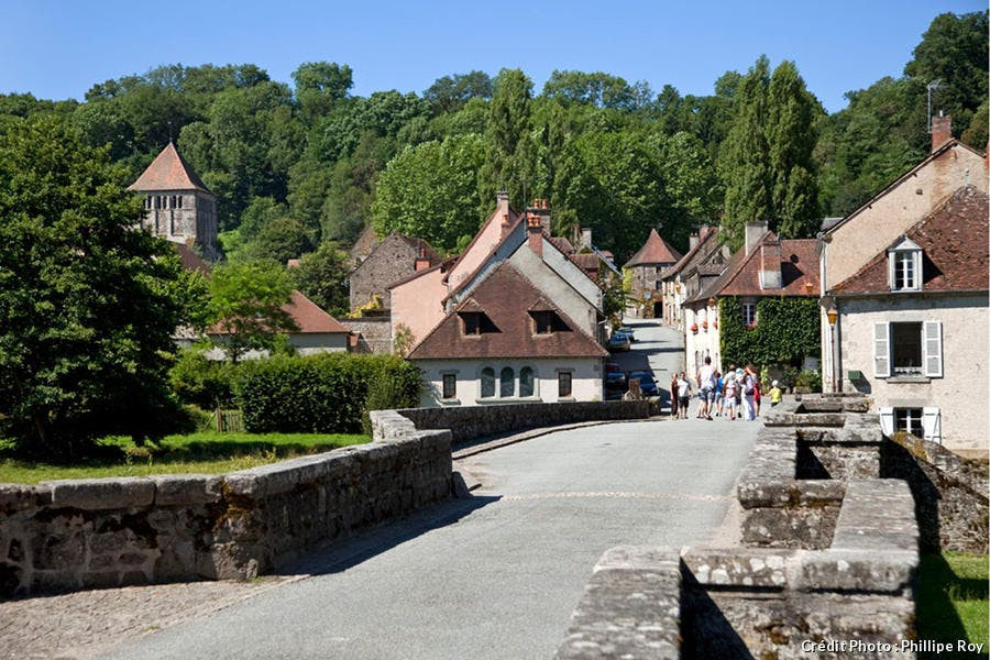 Panorama de Moutier d'Ahun