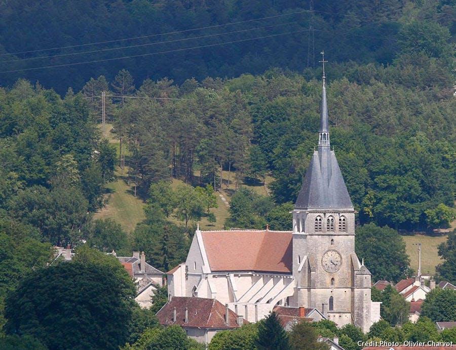 La collégiale de Mussy-sur-Seine