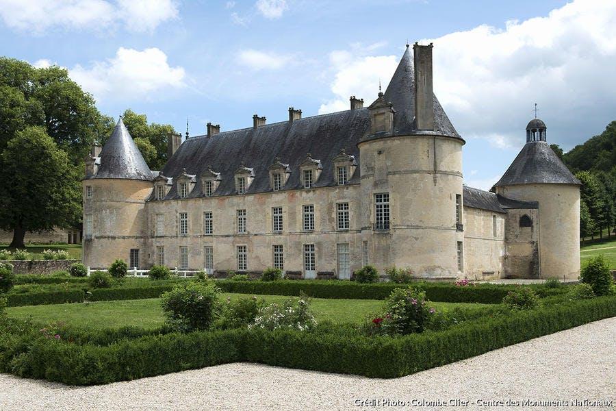 Château vu depuis la cour