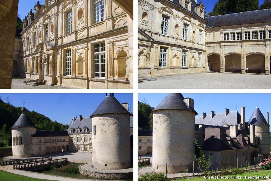 Les tours du château de Bussy-Rabutin