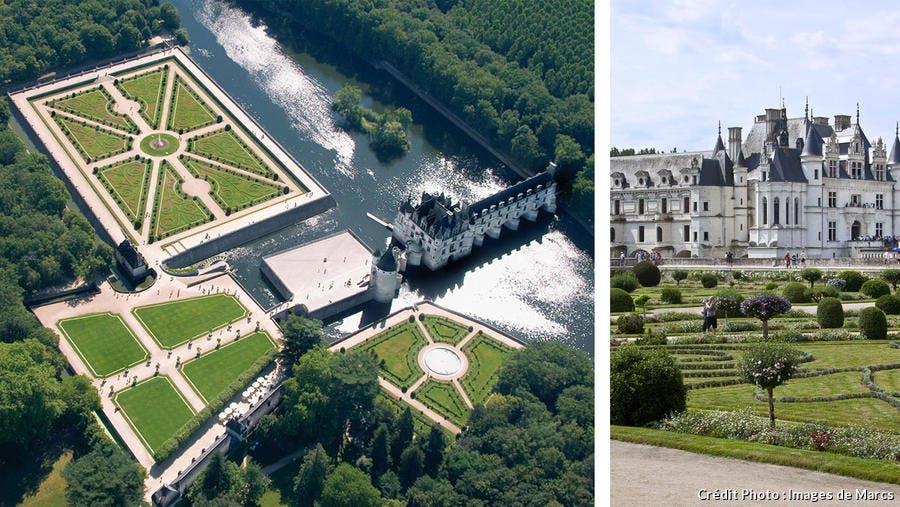 Le château et son jardin