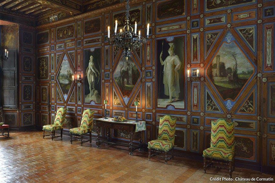 Une salle du château