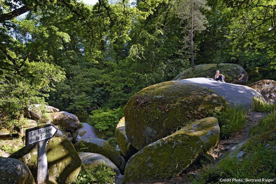 la forêt d'Huelgoat
