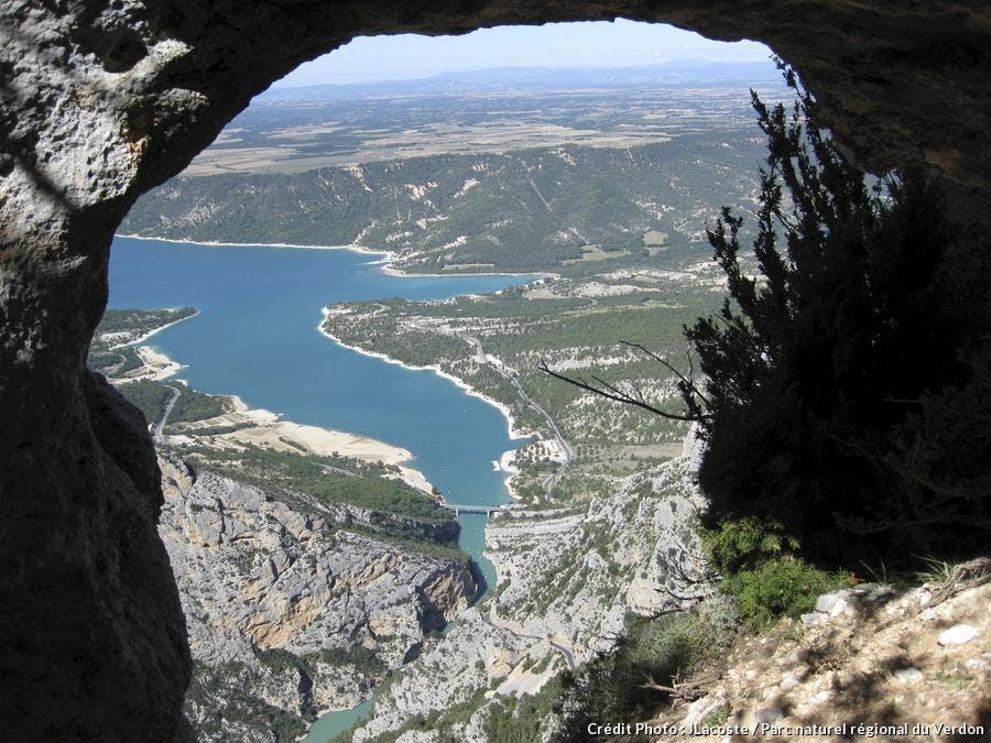 le pont de Galetas et le lac Sainte-Croix