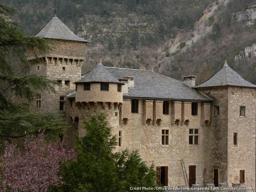 Le château de La Caze