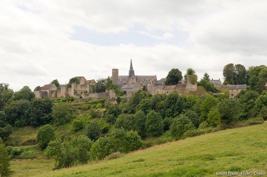 Panorama de Sainte-Suzanne