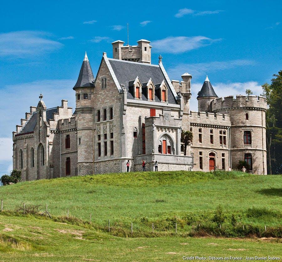 Donjon du château Abbadia