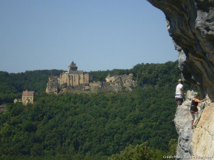 Escalade et château