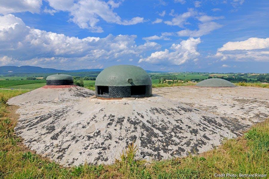 Le fort Shoenensbourg sur la ligne Maginot à Hunspach