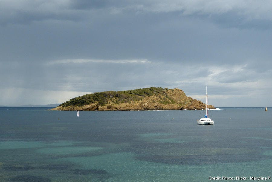 l'île verte en face de La Ciotat