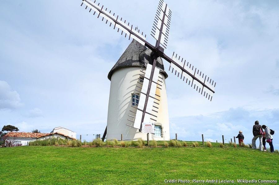 Moulin de la Conchette à Jard-sur-Mer