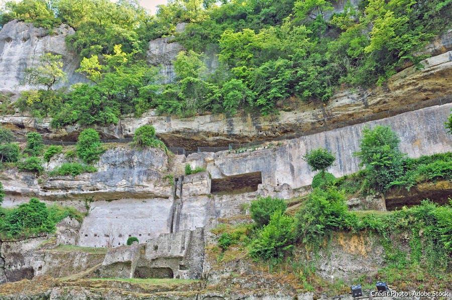 Grottes troglodytes de La Roque-Saint-Christophe