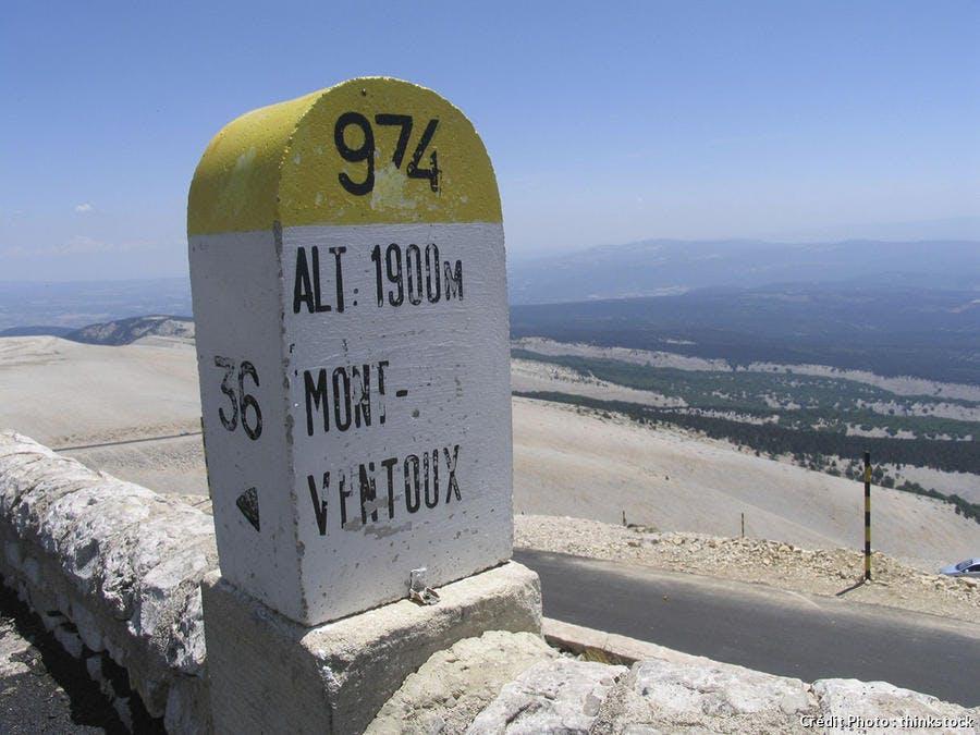 borne Mont Ventoux
