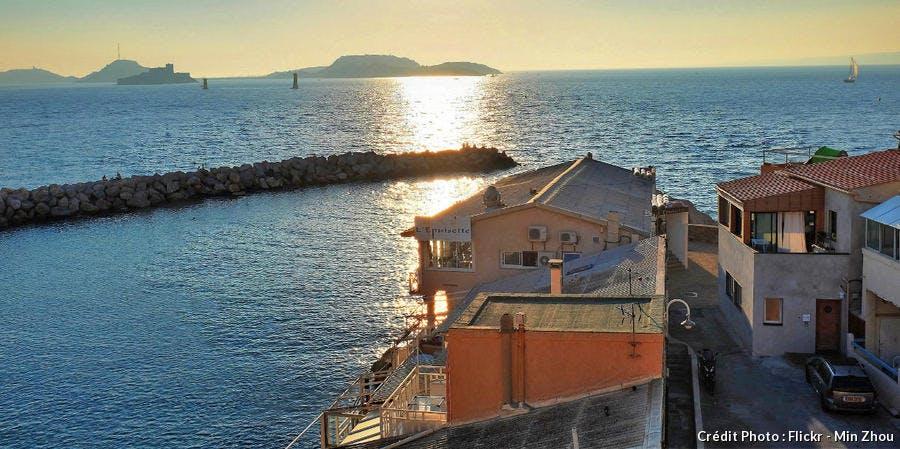 le restaurant l'Epuisette, à Marseille