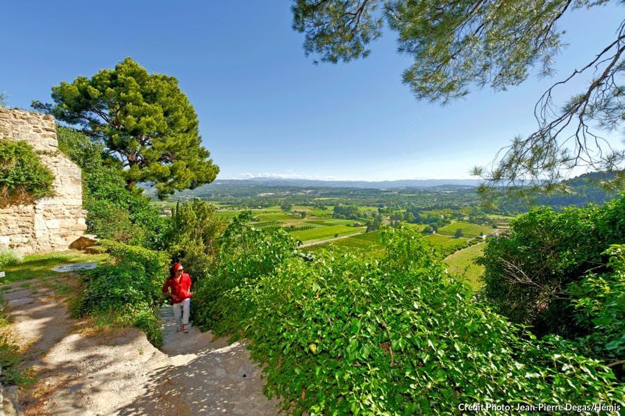 Parcours des villages perchés du Lubéron à Ménerbes