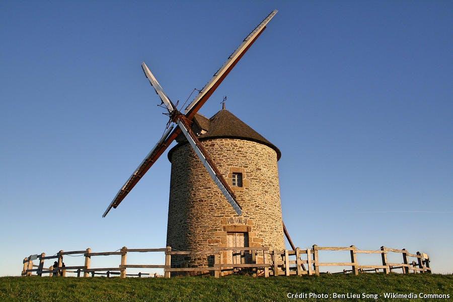 Moulin à vent de Moidrey